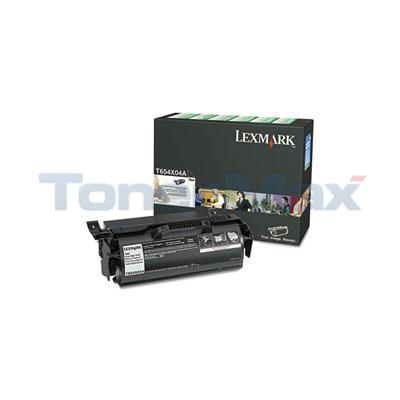 LEXMARK T654N RP PRINT CARTRIDGE FOR LABEL APPS 36K